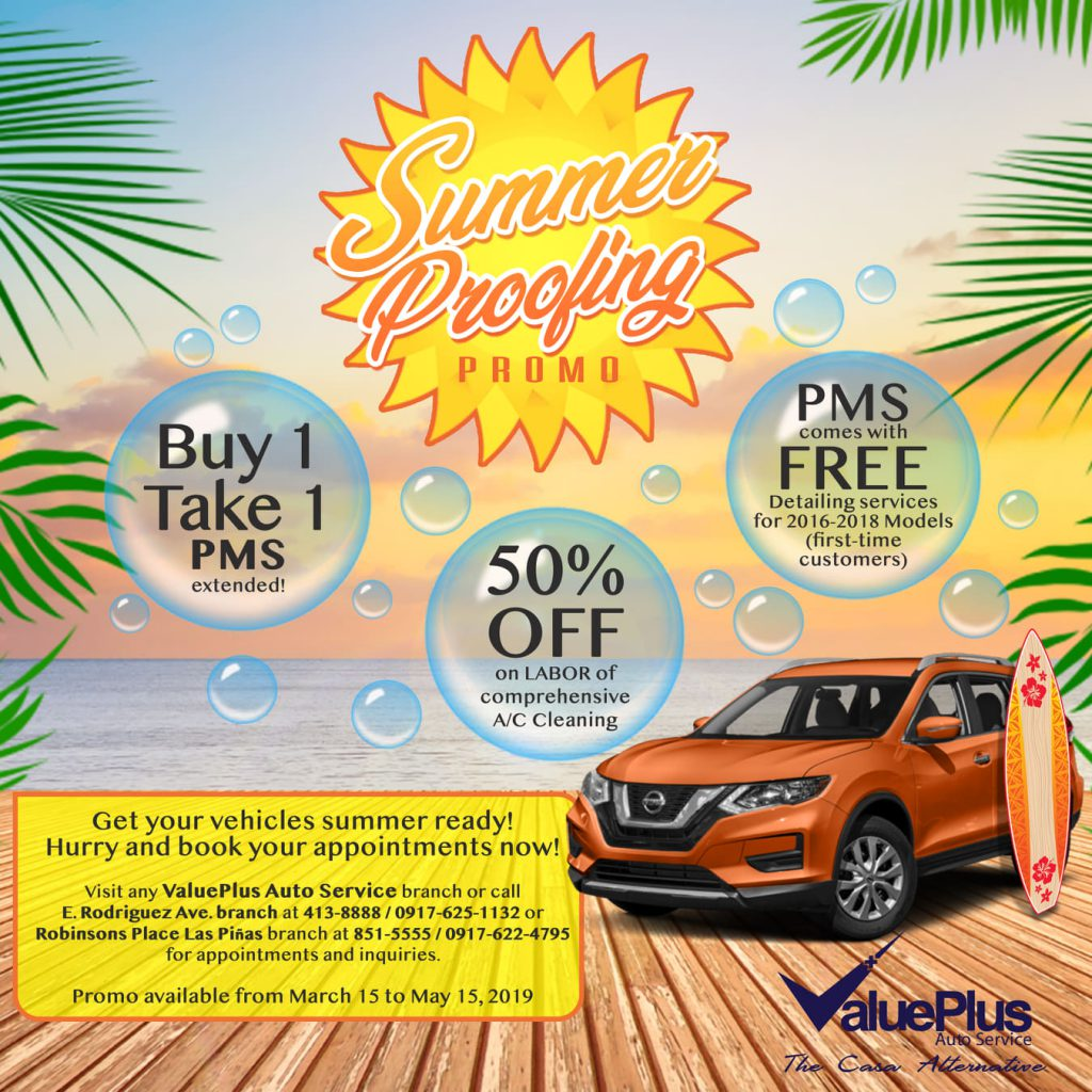 Summer Proofing Promo - ValuePlus