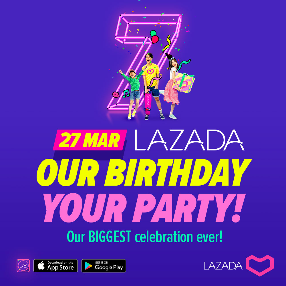 Lazada 7th Birthday Party
