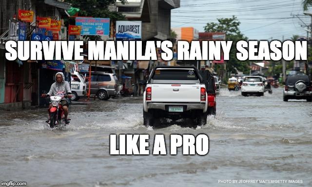 Manila's Rainy Season Car Checklist to Survive Like a Pro!