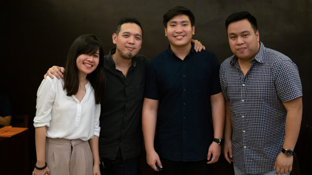 tony san jose of beepbeep.ph along with his sales team for shop talk this october