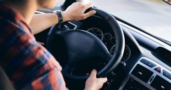 man driving in traffic stress health effects avoided with driver on demand