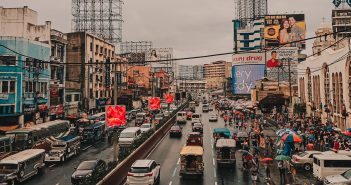 traffic in manila during rush hours and holiday season