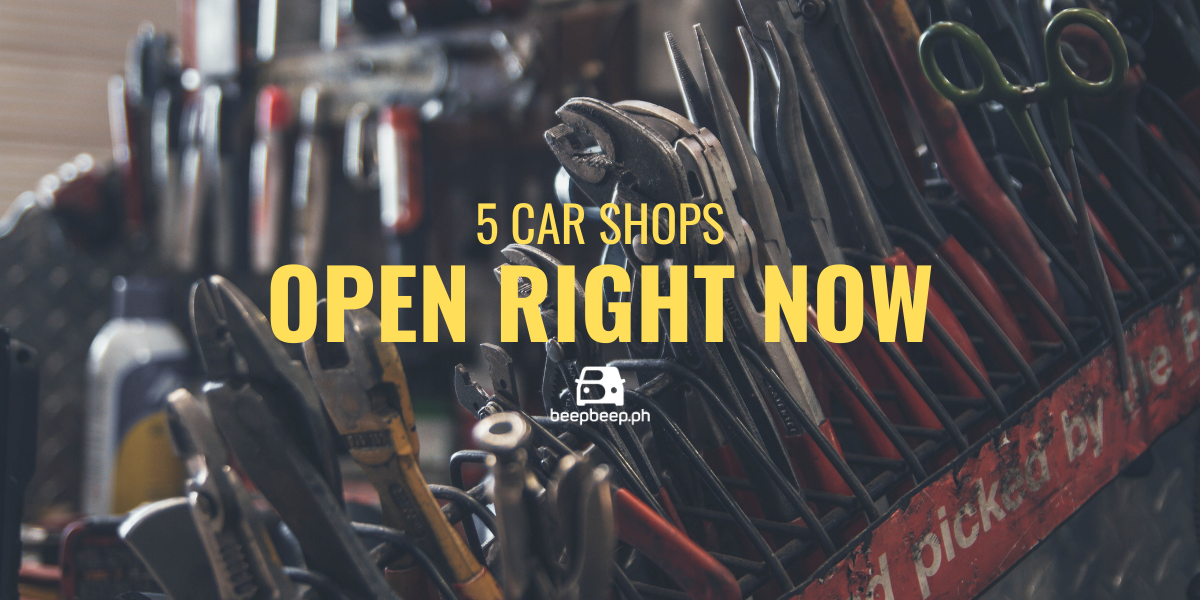 car shops open right now ready to serve metro manila
