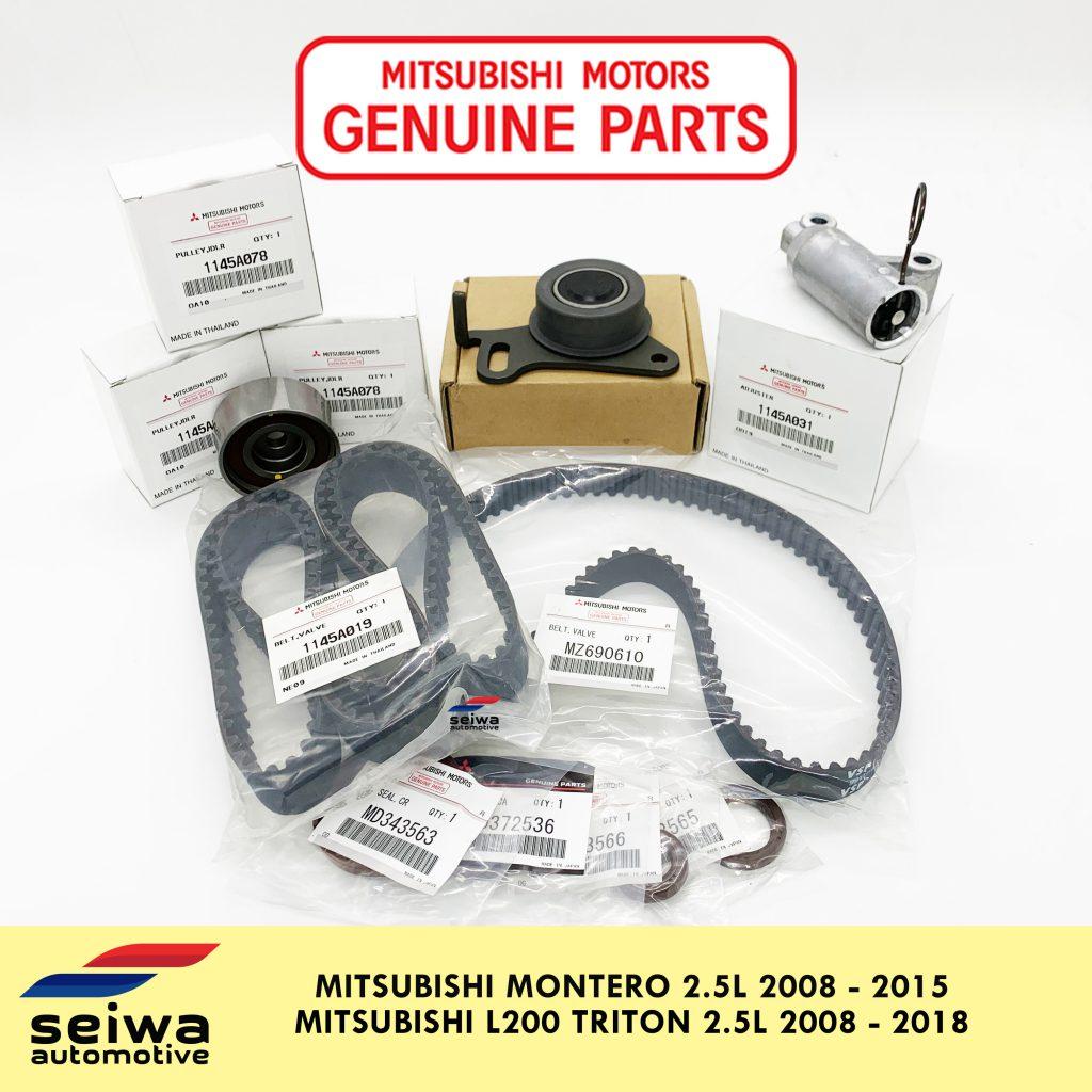 genuine parts mitsubishi timing belt muffler montero l200 seiwa automotive