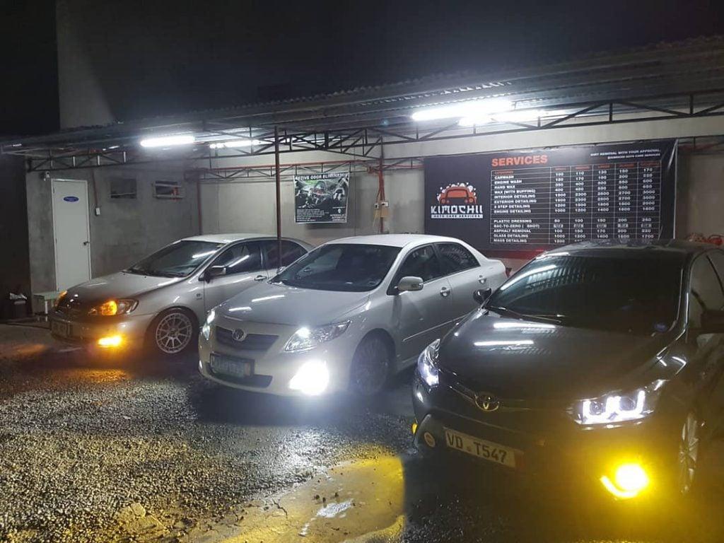 kimochii auto care services car wash detailing uv light disinfection detailing restoration fogging