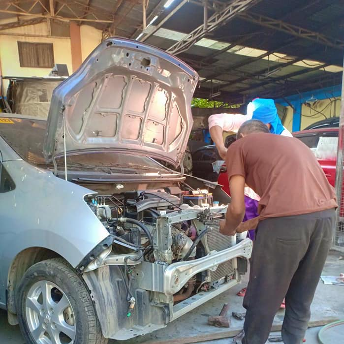 Most-D motor works body repair mechanical electric electronic upholstery paint job reliable tried and tested taguig C5