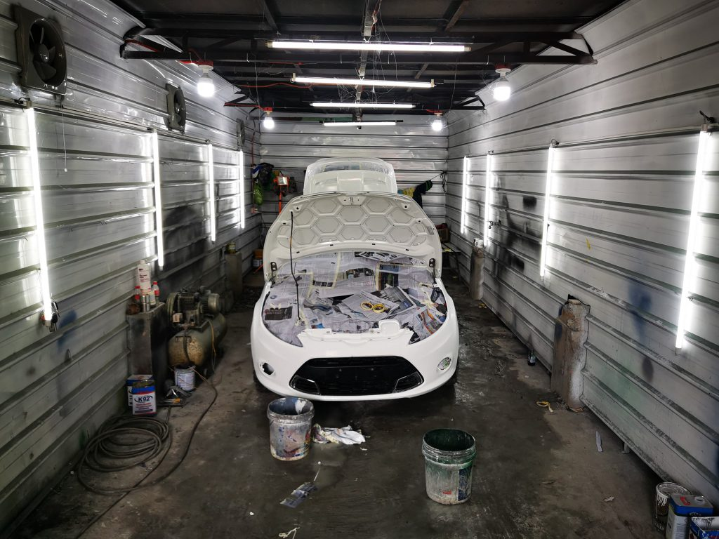 GLS autoworks body repairs in bulacan malolos collision dents insurance claim restoration chassis