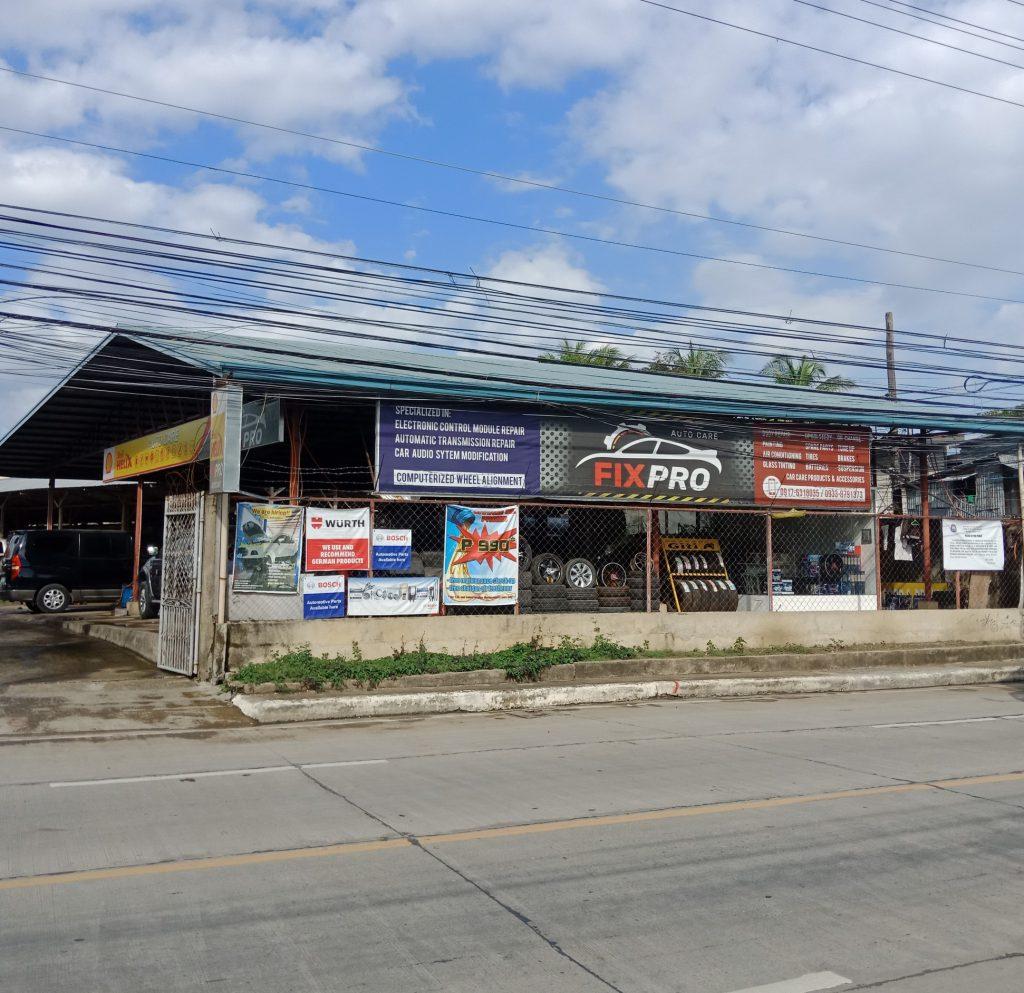 fix pro autocare trusted car shop in mandaue accessible convenient repair one stop shop