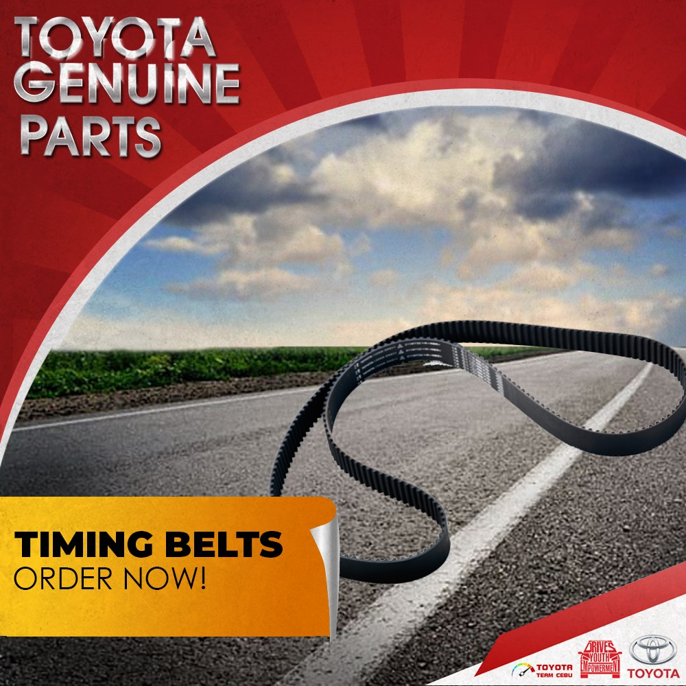 toyota car parts genuine lapu-lapu timing belt