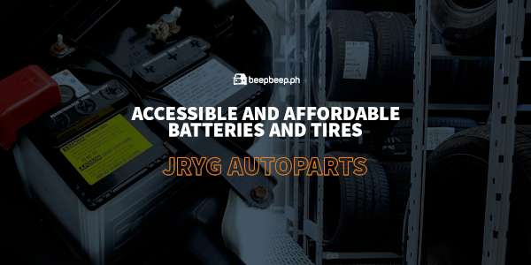 JRYG autoparts car battery pateros makati