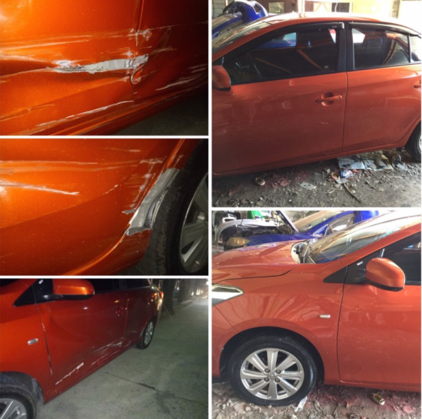 scratch dent repair vios collision like new overhaul complete makeover