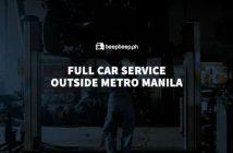 fully service your vehicle outside metro manila