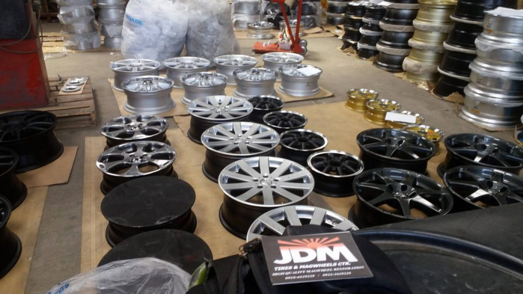 jdm tires and magwheels center las piñas repair restoration fabrication